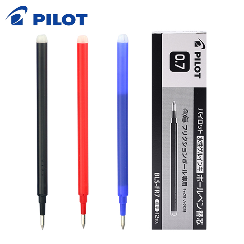 Pilot Green Frixion Rollerball Erasable Pens Pen Refills Replacement Spare Ink BLS-FR7 Pack Of 6-18 Refills