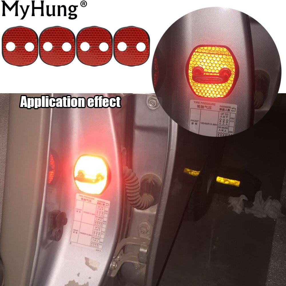 Car Door Lock Protective Cover Stickers For KIA K3 K5 FORTE SORENTO New Carens Borrego Rust