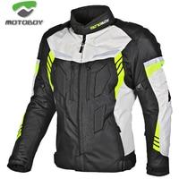 new motoboy motorcycle winter jacket have warm liner Racing drop jacket Body Armor Protective Moto Motocross Off Road Racing