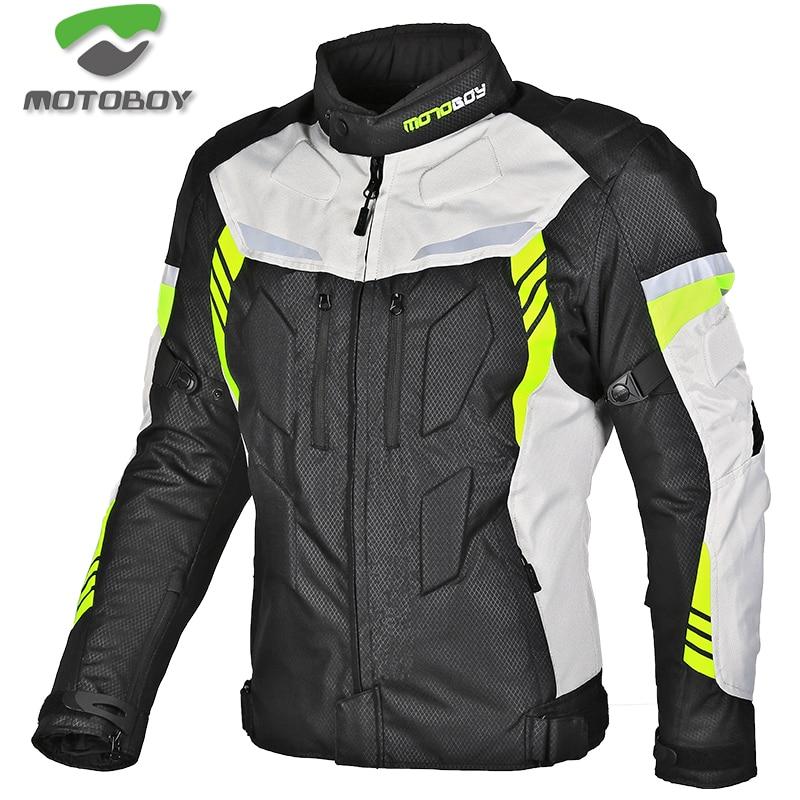 new motoboy motorcycle winter jacket have warm liner Racing drop jacket Body Armor Protective Moto Motocross Off-Road Racing