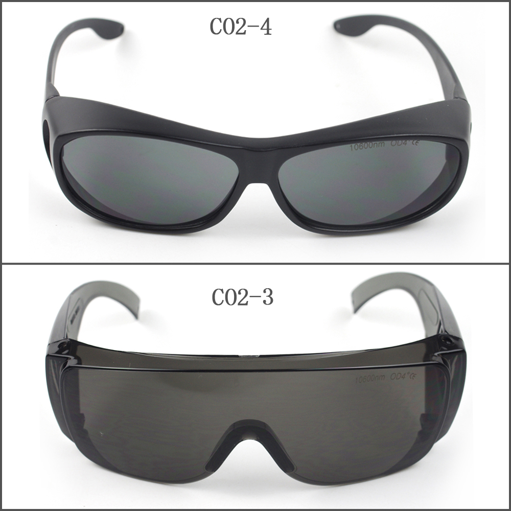 Laserland SK-CO2 CO2 10600nm Laser Protective Goggles Safety Glasses CE ep co2 protection laser goggles safety glasses eyewear for 10600nm co2 od5