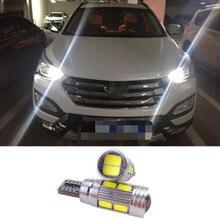 2 X High Power T10 W5W led bulbs No error with Projector Lens for Ford skoda Kia Toyota hyundai mazda honda Mitsubishi Suzuki