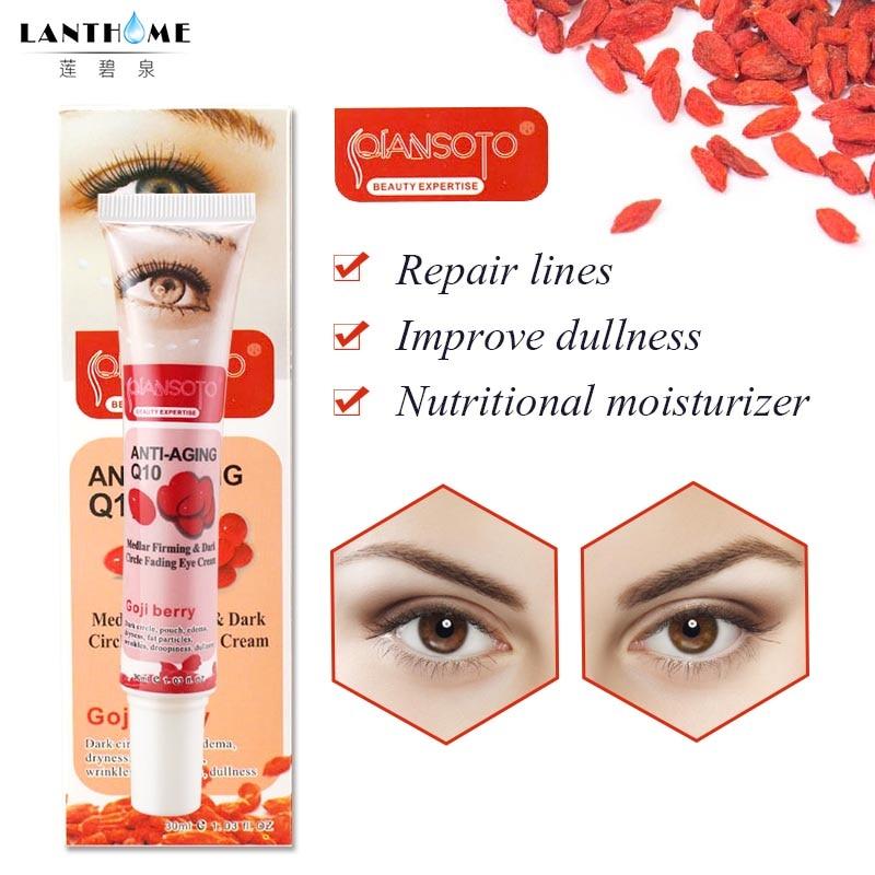 US $2 73 35% OFF Anti Wrinkle Eye Cream for Eye Bags Removal Ageless Goji  Cream Anti Dark Circles Under Eyes Care Lift Anti Aging Eye Serum on