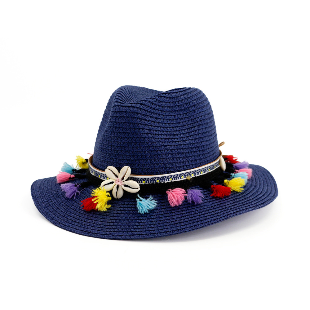902b132911306f Classical hat are an effective accessory to make you look great on summer  beach, while the brim of hats can well protect you from the strong sunlight.