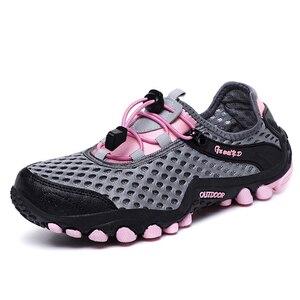 Image 5 - New Outdoor Men Hiking Shoes Mountain Shoes Trekking Shoe