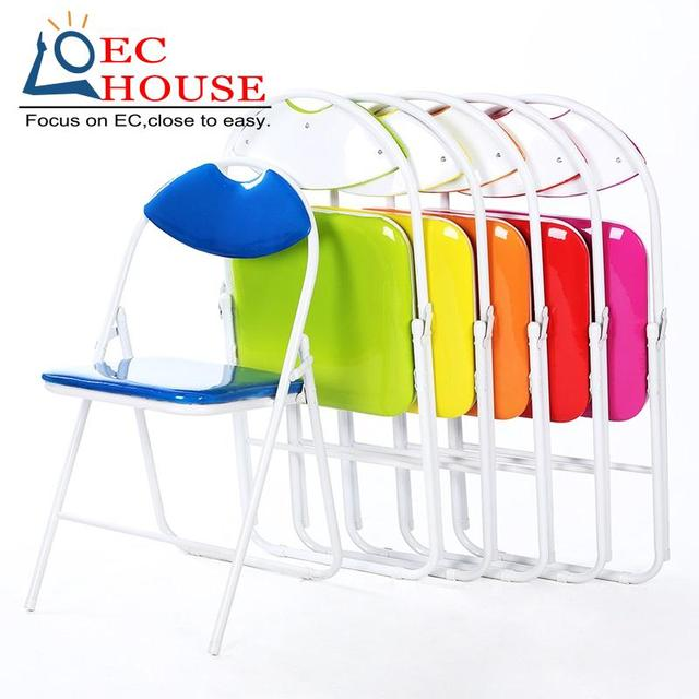 Folding household comter leisure office simple conference training staff cr FREE SHIPPING