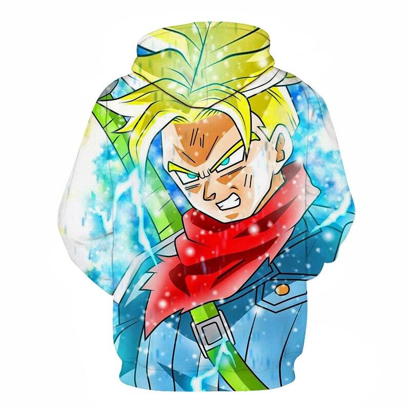 Dragon Ball 3D Hoodie Sweatshirts Men Women Hoodie Dragon Ball Z Anime Fashion Casual Tracksuits Boy Jackets Hooded Pullover