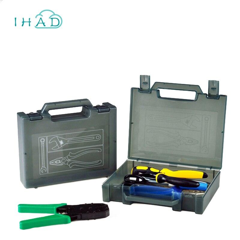 Grau Hand home Werkzeugkasten kleine Komponente Werkzeugkasten ...