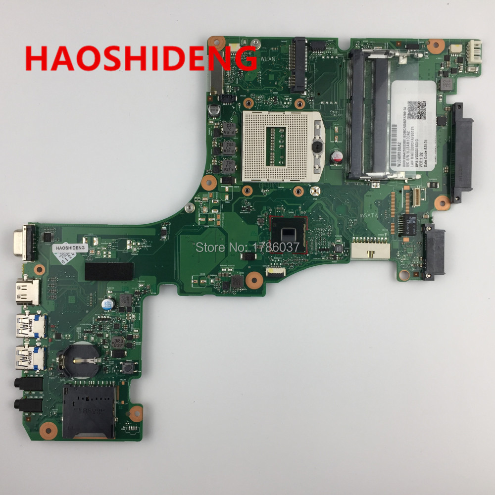 V000318010  for Toshiba Satellite L50-A L55-A L50T-A L55T-A Laptop Motherboard,All functions fully Tested! for toshiba satellite l745 l740 intel laptop motherboard a000093450 date5mb16a0 hm65 tested