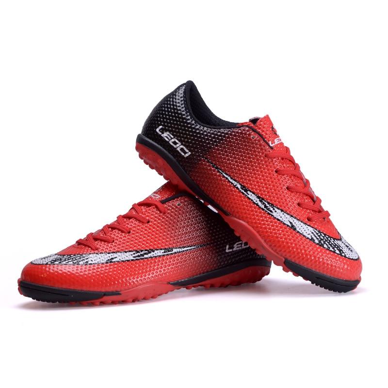 LEOCI Football Boots <font><b>Soccer</b></font> <font><b>Shoes</b></font> Men Kids botas de futbol New Superfly Cleats Sneakers voetbalschoenen voetbal