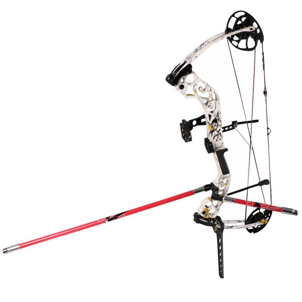 Details about  /Archery Compound Bow Stabilizer Balancer Adjustable Single//Double V-Bar