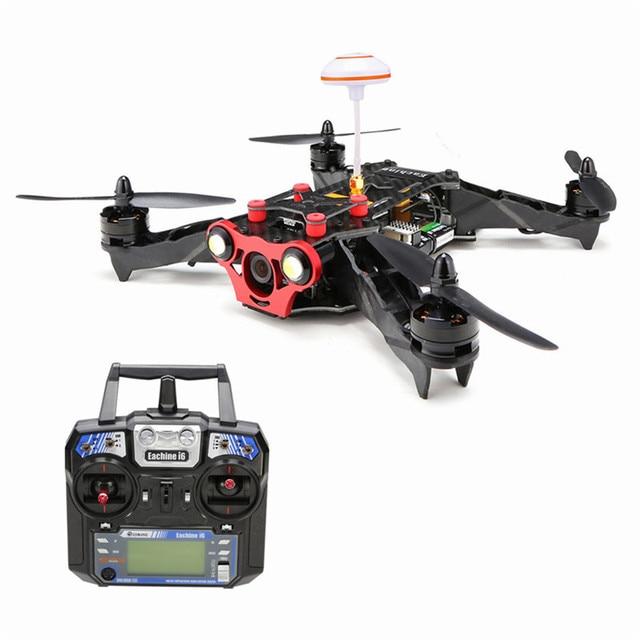 High Quality Eachine Racer 250 FPV Drone F3 NAZE32 CC3D w/ Eachine I6 2.4G 6CH Remote Control VTX OSD RTF RC Multicopter Drones
