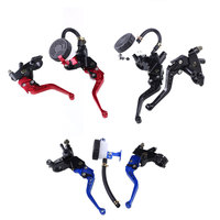 1Pair 22mm 7 8 Inch Front Handlebar Brake Clutch Master Lever Motorcycle