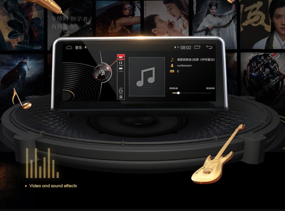 Android 7.1 Navi CarPlay 10.2 INCH 2G RAM Liislee For BMW X1 F48 2012~2018 Original NBT EVO System Car Multimedia GPS Navigation 14