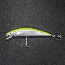 Le-Fish Hot Sale Free Shipping Minnow Artificial Bait Fishing Lure Hard Plastic 135mm/30g Wholesale Treble Hook Big Minnow Bait стоимость