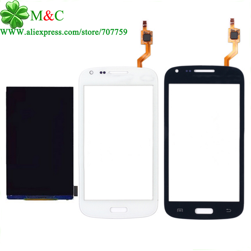 OGS i8262 LCD Touch Panel For Samsung Galaxy Core Duos i8262 i8262d I8260 LCD Display Touch Screen Digitizer Glass Panel