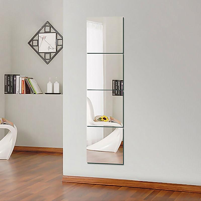 unids espejo pegatinas de pared diy arte decoracin de la pared pegatinas de pared decoracin