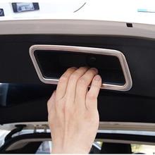 Подходит для Qashqai J11 2014 2015 2016 Интимные аксессуары хвост ствол дверная ручка крышки Стикеры матовый серебристый Тюнинг автомобилей