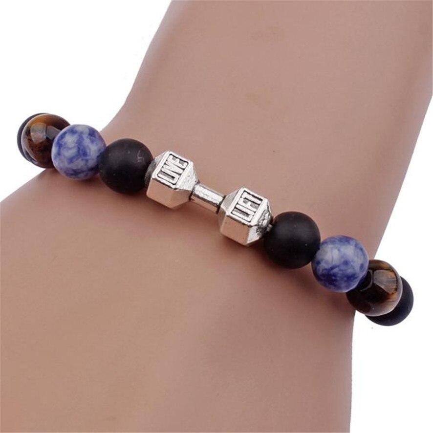 2018 Bracelets For Women Men Fashion Bracelet Buddha Elastic Beaded Chain Charm Jewelry Homme Femme