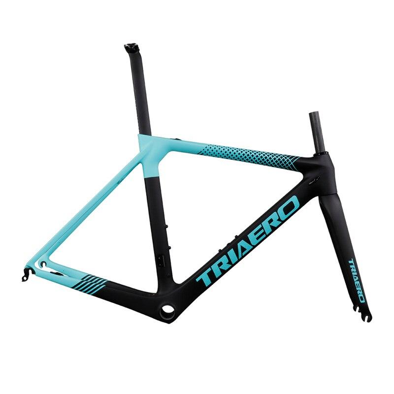 ICAN Full Carbon Bicycle Frame Aero Carbon Bike Road Di2 Frame