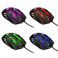 2019new 3200DPI LED Optical Mouse 6D USB Wired Gaming Mouse With 6 Buttons Professional Game Player Mice For PC Laptop Notebook