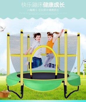 Baby Hüpfburgen Und Schaukeln | Baby Innen Kleinen Bounce Bett Hause Kinder Mit Mesh TrampolineJumpers Schaukel Schaukel Stuhl Baby Sicher Bett Wiege Spielzeug Pad