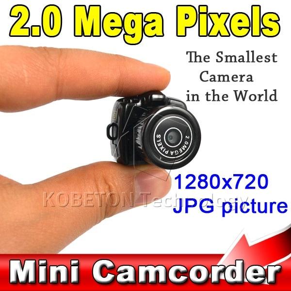 Kebidu Super Mini Video Camera Ultra Small Smallest Pocket 1280*1024 DV DVR Camcorder Recorder Web Cam 720P JPG Photo