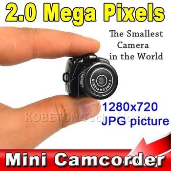 AP New Y2000 Cmos Super Mini Video Camera Ultra Small Smallest Pocket 1280*1024 DV DVR Camcorder Recorder Web Cam 720P JPG Photo