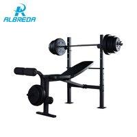 ALBREDA вес скамейки фитнес оборудование гантели Вес s pesos гантели для фитнеса halteres kettlebell alteres штанги вес ing