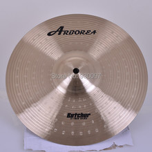 HANDMADE bronze cymbal , high quality BUTCHER 12SPLASH for sale sale entry level arborea mute cymbal set 14hihat 16crash 18crash 20ride