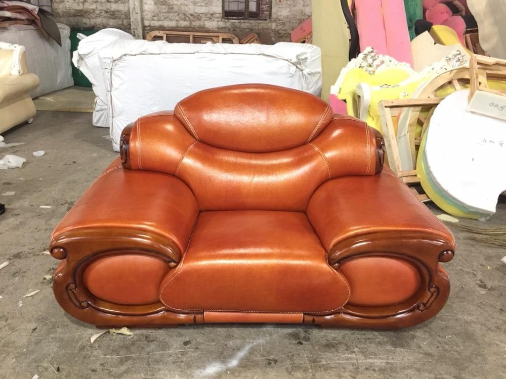 Aliexpress Antique Europischen Ledercouchgarnitur Wohnzimmer Sofa In China Sofagarnitur 1 4 Chaise Von Verlsslichen Lieferanten Auf