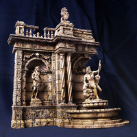 1:35 Resin European Building Model kits scene ruins one set (4A+4B+4C) Unpainted Free shipping DY 35004CG