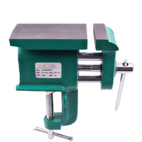 High Quality Straight Handle Multifunctional Table Vise Miniature Hand Carved Mini Vice Woodworking Clamp Chinese Style