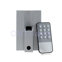 RFID Metal Fingerprint Scanner Access Control Machine With Remote Control Support 1000 Users For Security Protection