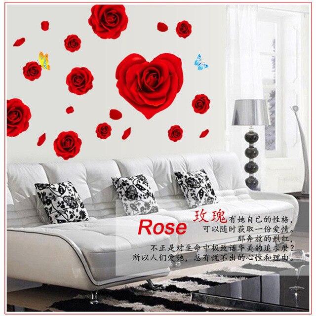 rosas rojas grandes papel pintado romntico lleno de amor para parejas - Fotos De Rosas Rojas Grandes