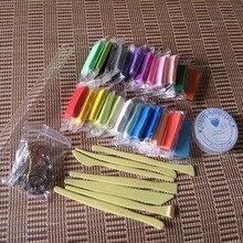 Полимерная глина печь испечь интеллектуальный пластилина указан мягкий Fimo с инструменты дети 24 цветов комплект игрушки цветной глины