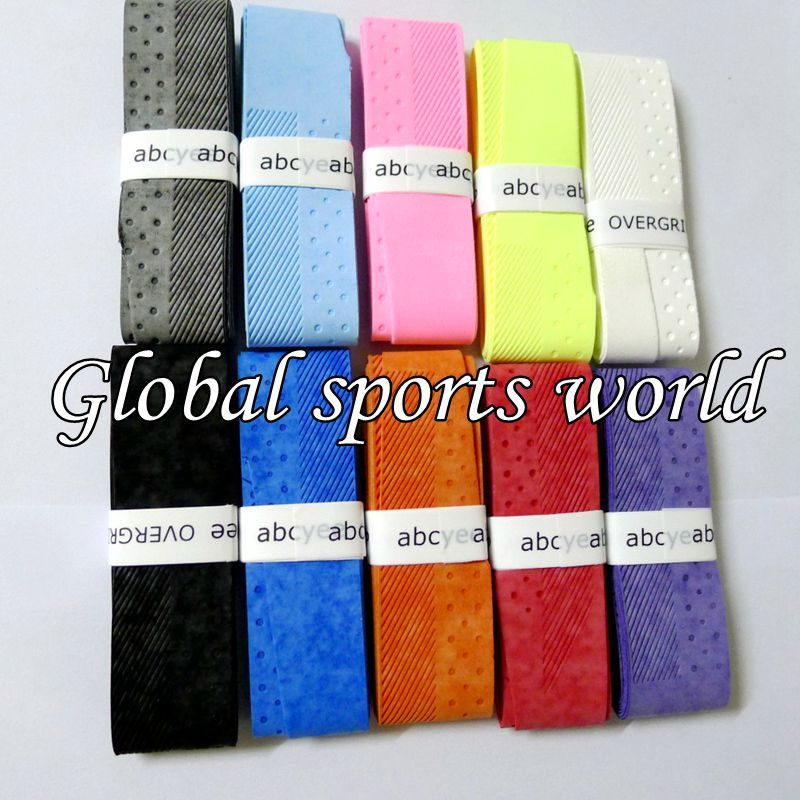20 pcs ABCYEE Soft Tennis overgrip tennis rackets replacement grip,Twill embossing badminton grip