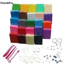 Гибкий текстурный инструмент для работы с полимерной глиной шпатлевка детская игрушка 24 шт./лот глина для моделирования Нетоксичная слизня игрушка художника крафт глина