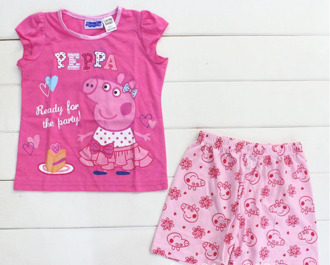 Aliexpress.com : Buy Kids Peppa Pig pajamas for children girl ...