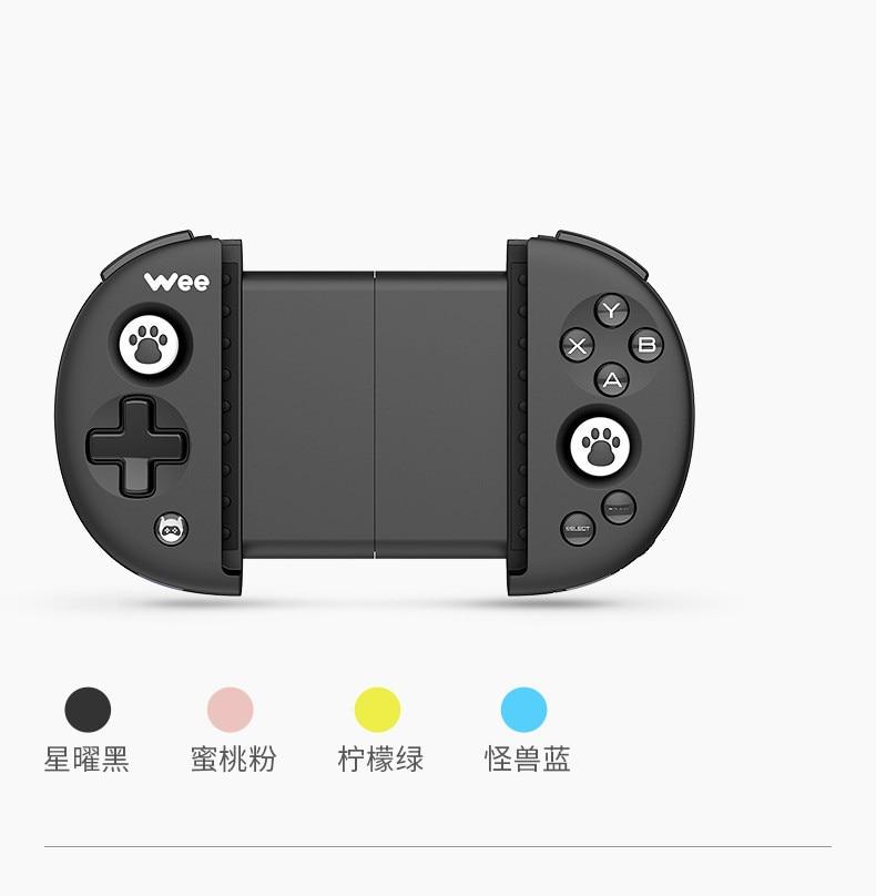 Bluetooth 4.0 IOS/Android Bluetooth manette de jeu avec câble USB pour Smartphone jeu - 4