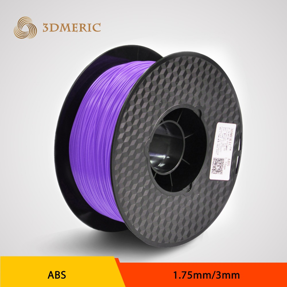 Wholesale Price 1.75mm 3D ABS Printer Filament flsun 3d printer big pulley kossel 3d printer with one roll filament sd card fast shipping