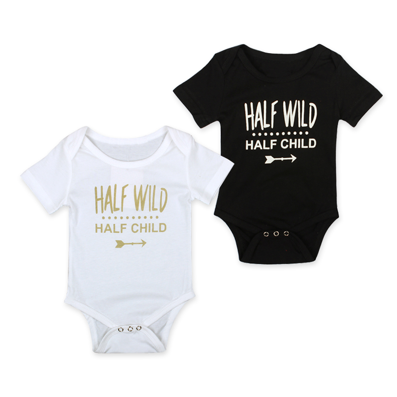 Anionor Frankie Say Relax Infant Baby Boy Organic Cotton Short Sleeve Onesies Bodysuits