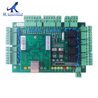 TCP/IP Wiegand Entry Access Control Board Panel Controller For 4 Door Entry Systems