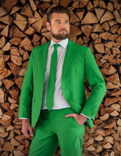 Nouveau mode marié hommes Tuxedos pour mariage à thème 2017 sur mesure frais vert hommes de bal/d'affaires costumes (manteau + pantalon + cravate)