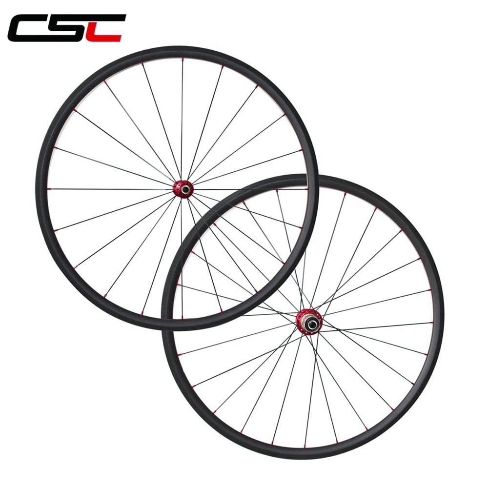 Ultra Light 1035g 23mm Width 24/38/50/60/88mm Depth Clincher Or Tubular Carbon Road Bike Wheels R13+ Mac Aero 424 Spokes