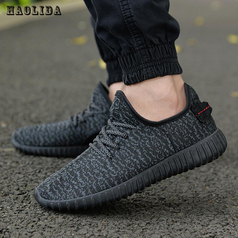 2017 New Men Summer Mesh Shoes Loafers Lac Up Water Shoes Walking Lightweight Comfortable Breathable Men