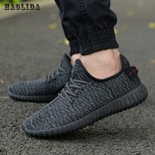 2018 Новая Мужская Летняя обувь из сетчатого материала, лоферы на шнуровке, обувь для прогулок, Легкая удобная дышащая мужская обувь, tenis feminino zapatos