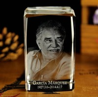 gabriel marquez best gift limited edition Decor 3D Crystal Image handiwork BEST Business birthday gifts