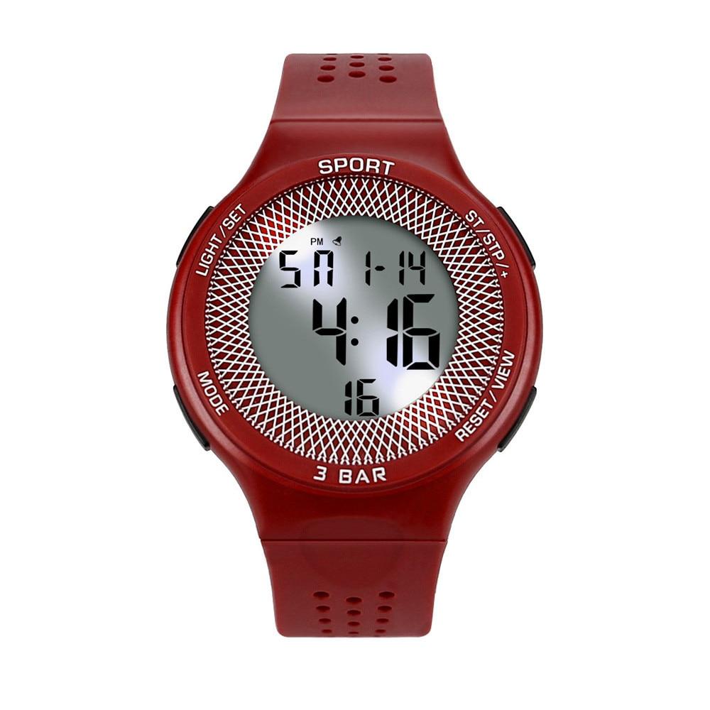 Men Analog Digital Military Army Sport LED Waterproof Wrist Watch Montre Clock Electronic Watch