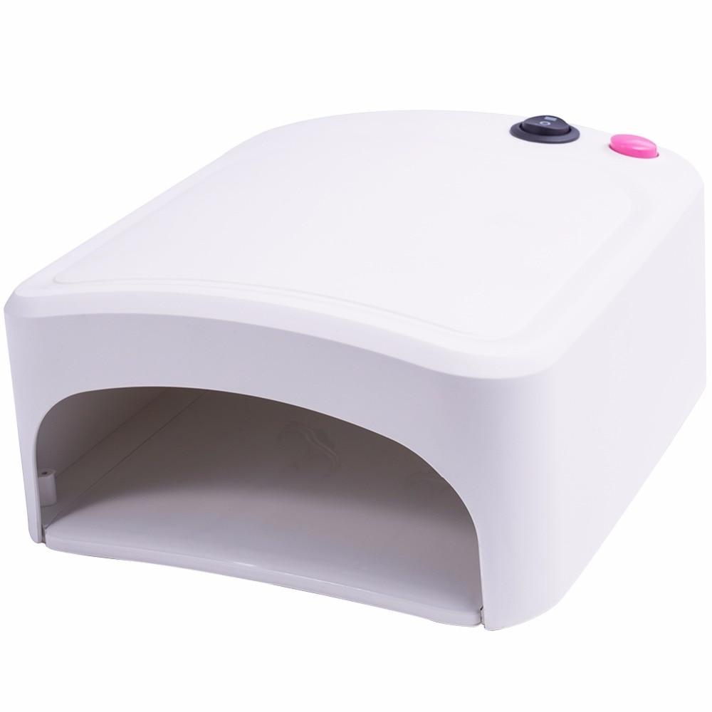 36 W UV Lampe Gel Nagel Trockner Weiß UV Nagel Lampe Aushärtung für UV Nagel Gele Polnischen Nail art Werkzeuge heißer Verkauf 818
